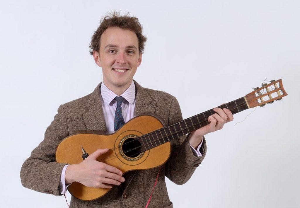 Guitar to Serenade Bidders