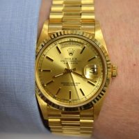 Rolex is a Golden Present