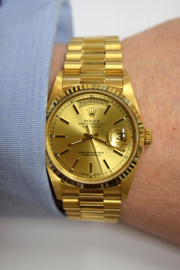 Rolex is a Golden Present