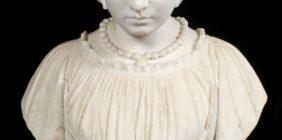 cottage Italian marble bust