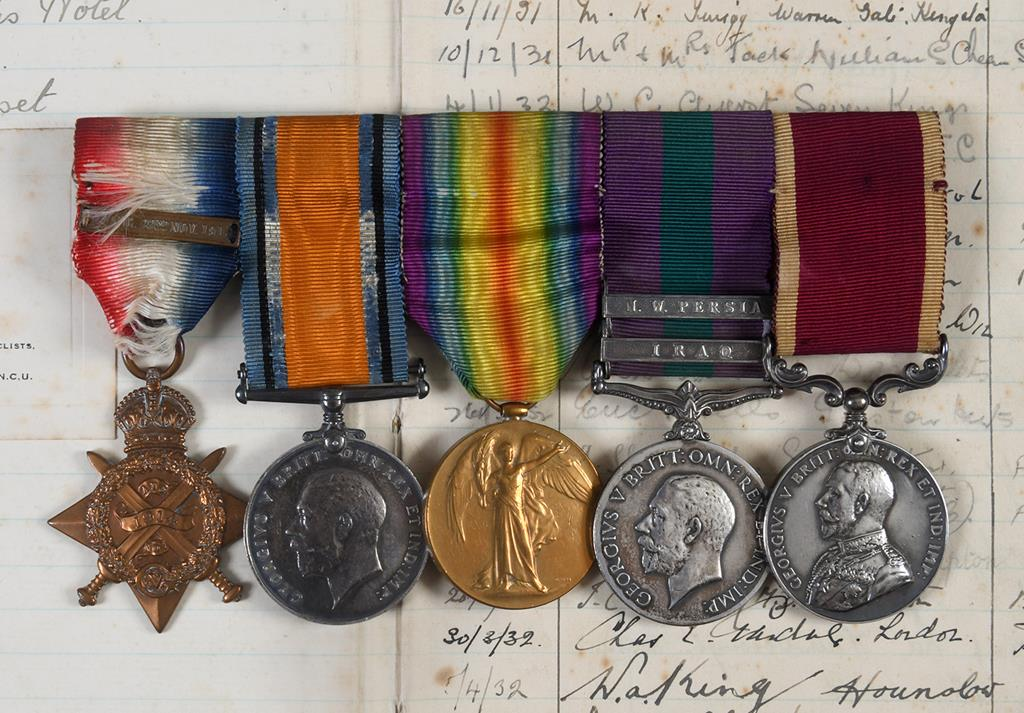 Somerset Lads Medals